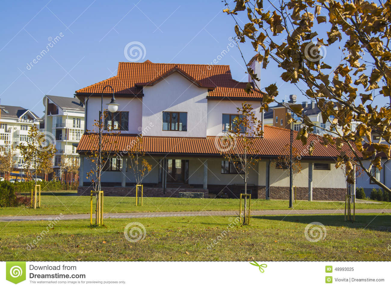 Classic american house stock photo image 48993025 for American classic house mouse