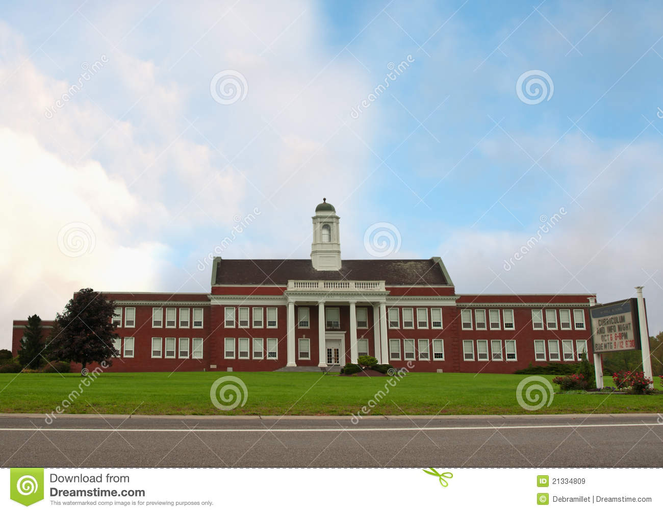 Classic American School Royalty Free Stock Images Image