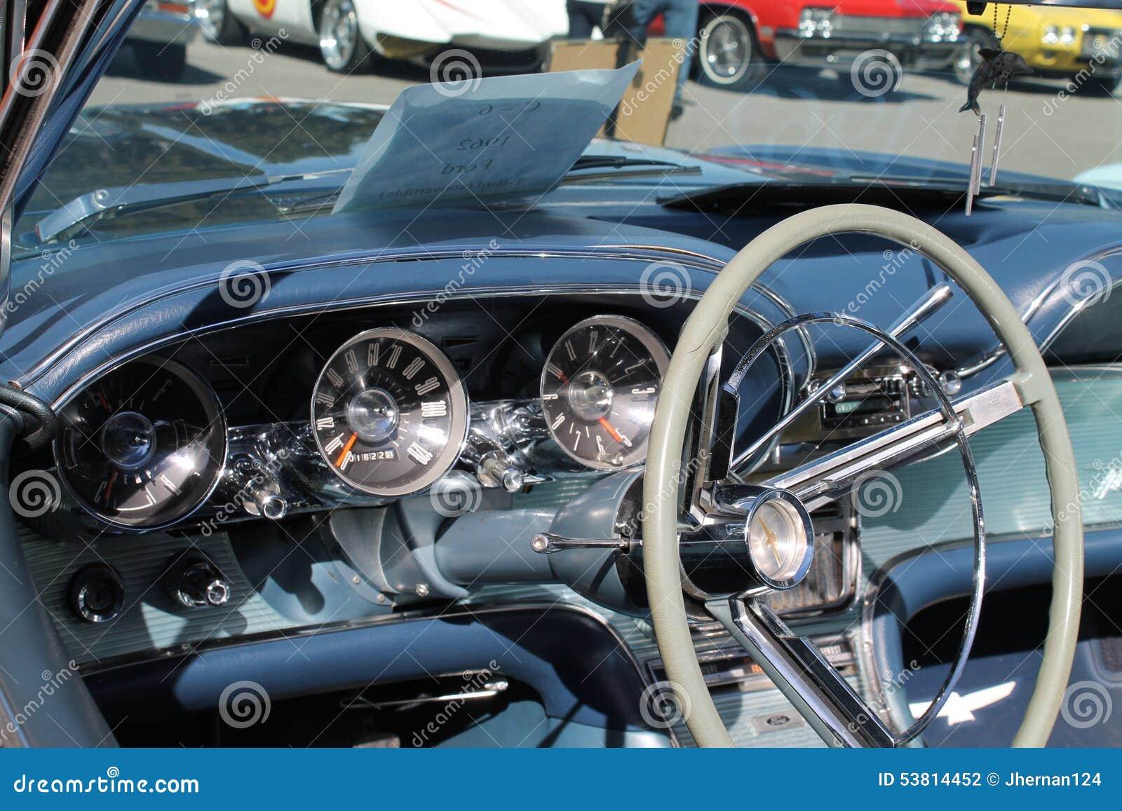 American Cabin Car Classic Convertible Florida Ford Interior Miami