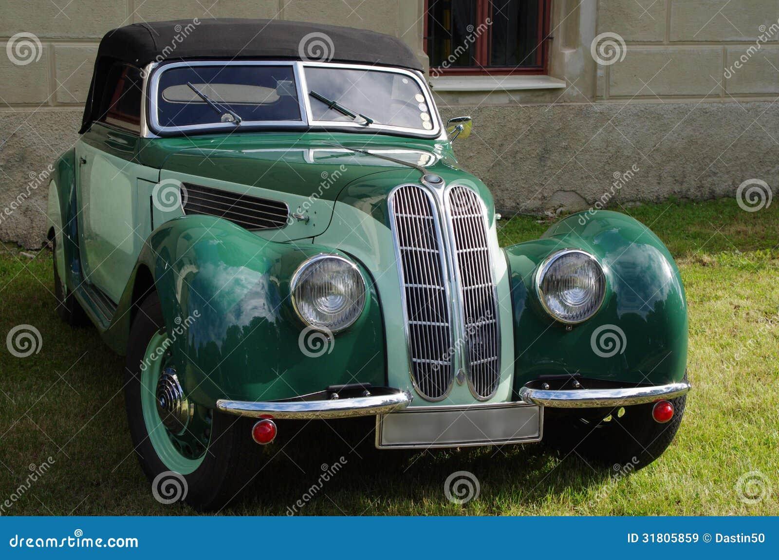 BMW Stock Image. Image Of Vintage