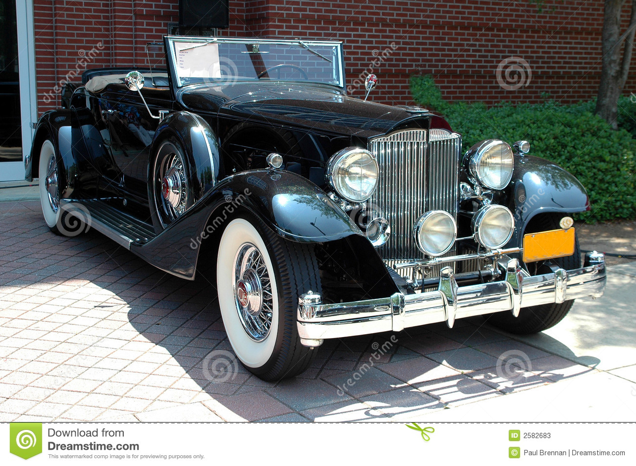 Classic antique luxury car stock image. Image of classic - 2582683