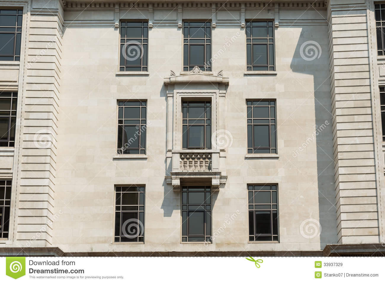 Classic architecture stock image image of britain for Classic house facades