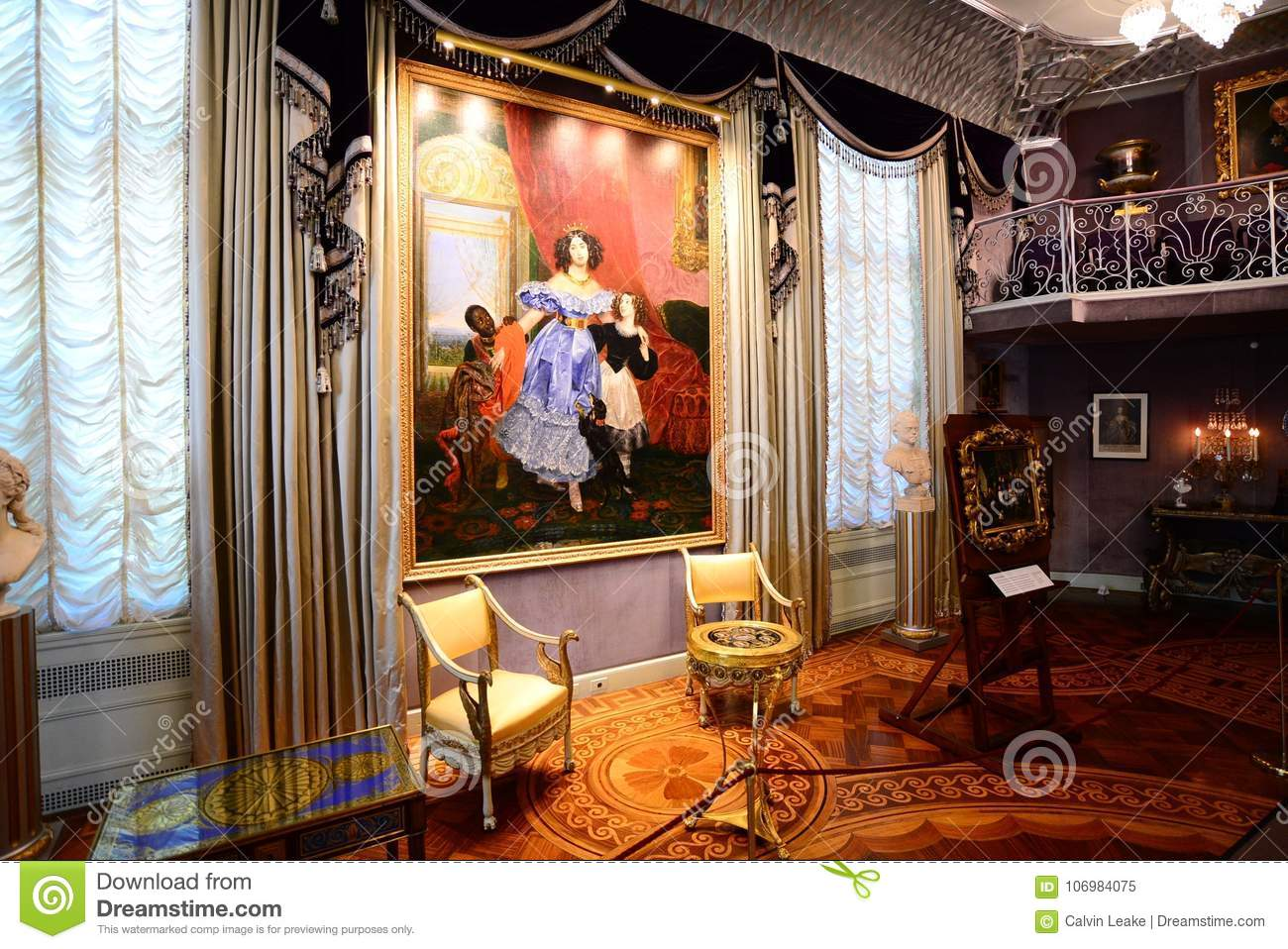 Classic Art At Hillwood Estates And Museum Editorial Image - Image ...