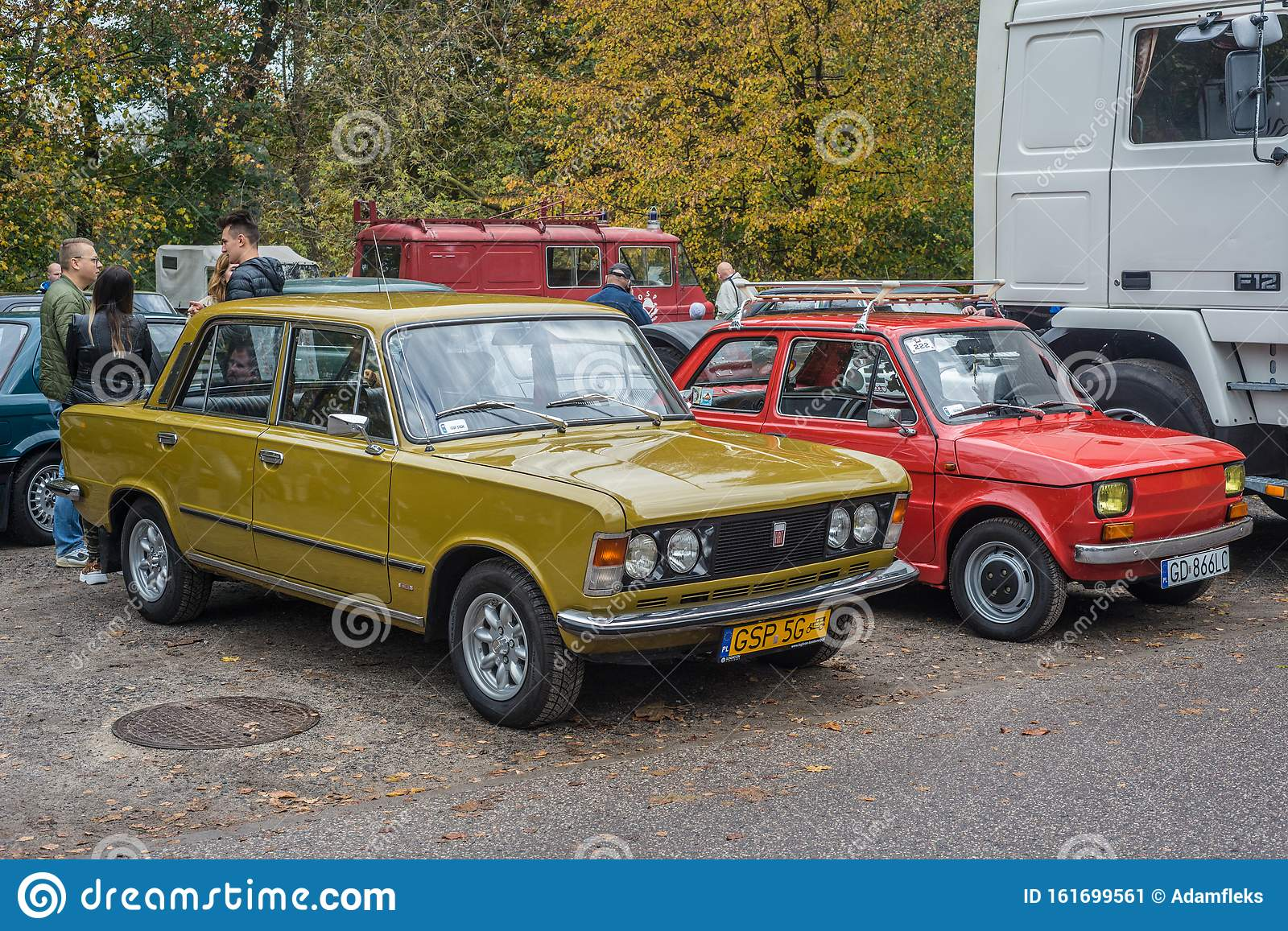Classic Yellow Polish Cars Polski Fiat 125p And 126p Parked Editorial Photo Image Of Bahama Convertible 161699561