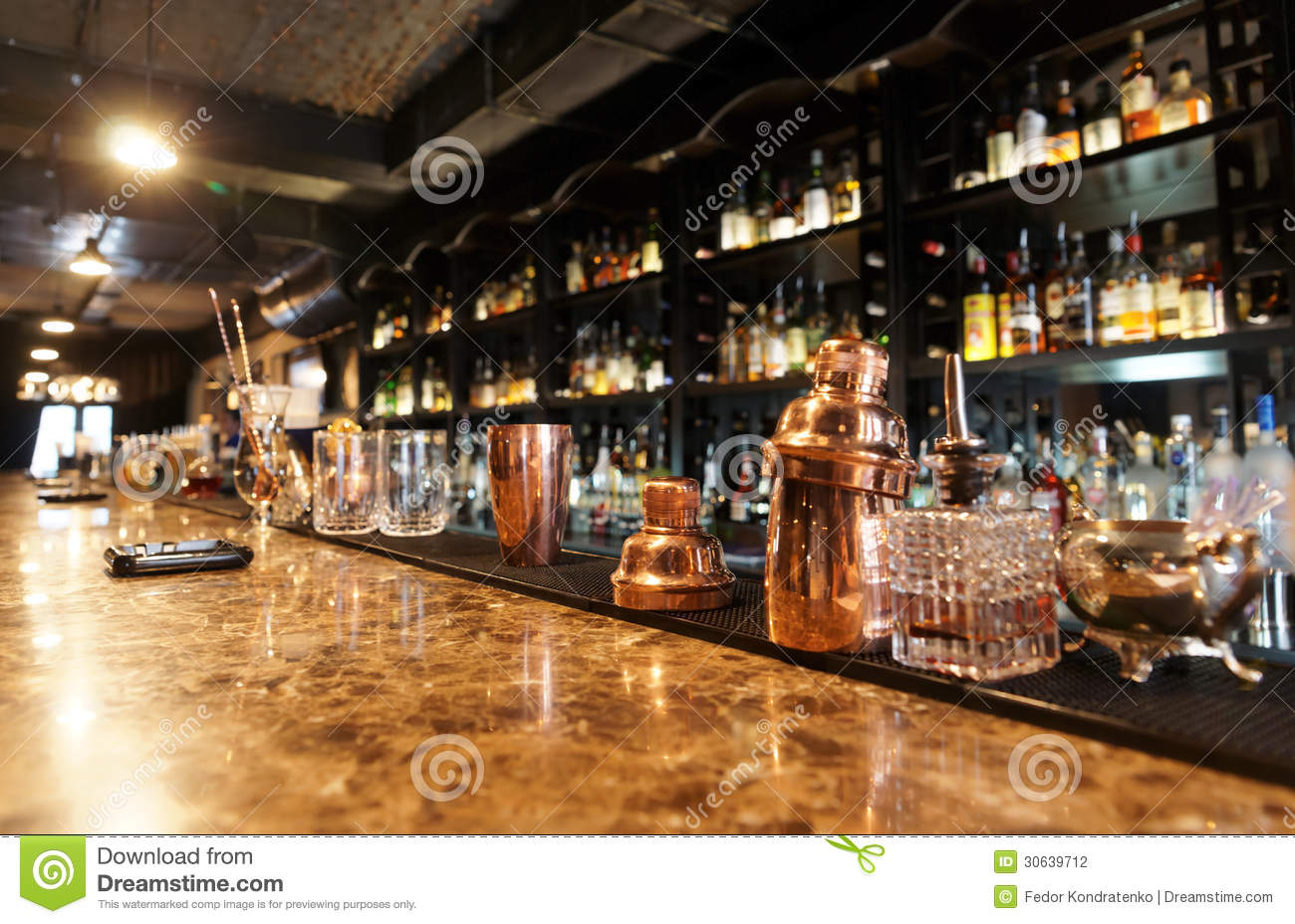 Classic bar counter stock photography image 30639712 - Classic bar counter design ...