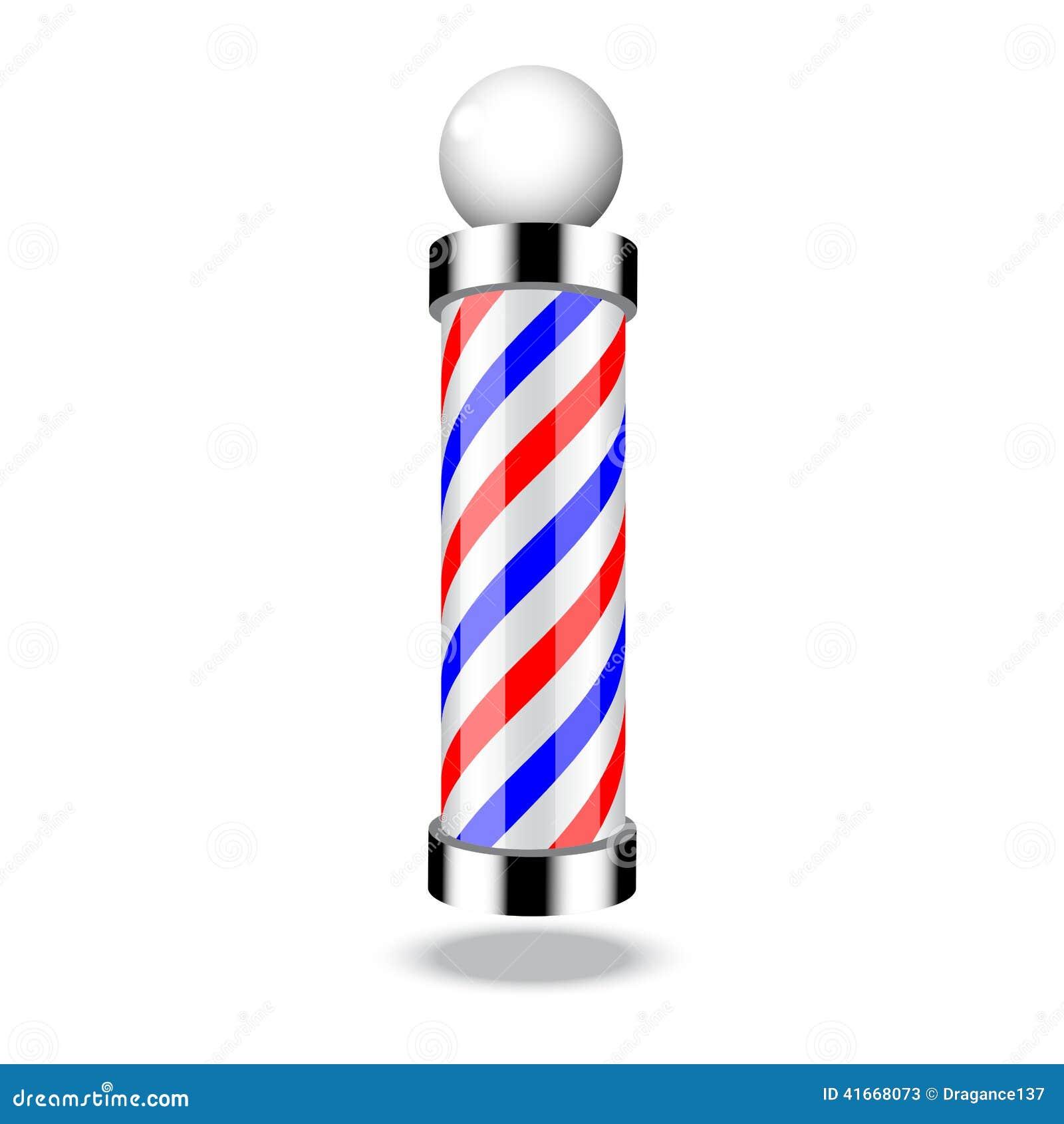 Barber Background : Barber Pole Background Classic Barber Shop Pole Stock
