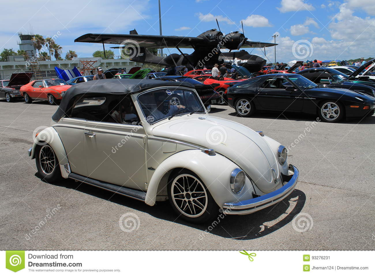 Classic beetle driving editorial photo  Image of driving - 93276231