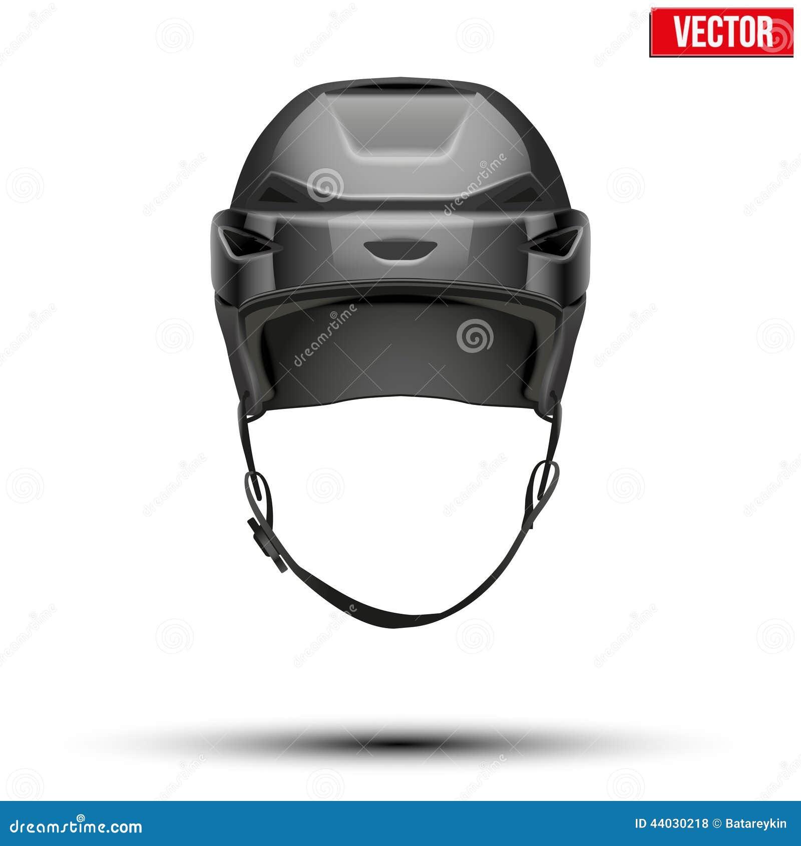 Hockey helmet front