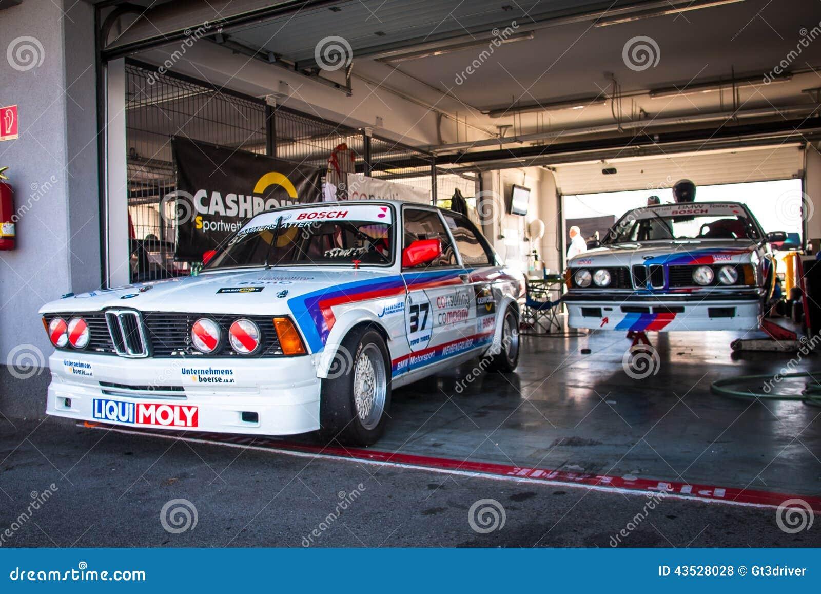 Classic Bmw Racing Cars Editorial Stock Photo Image