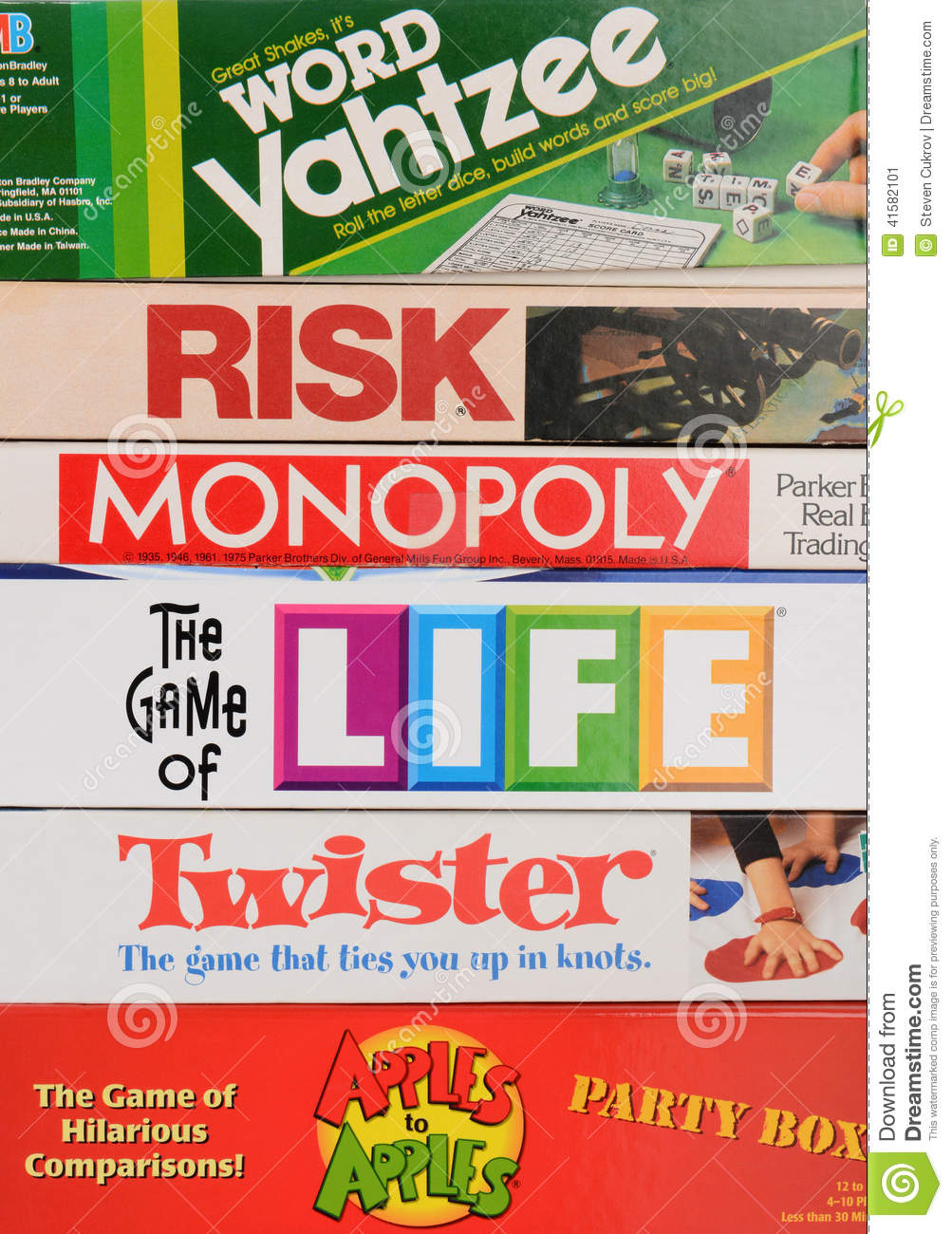 irvine ca may 19 2014 a stack of family board games classic games from ...