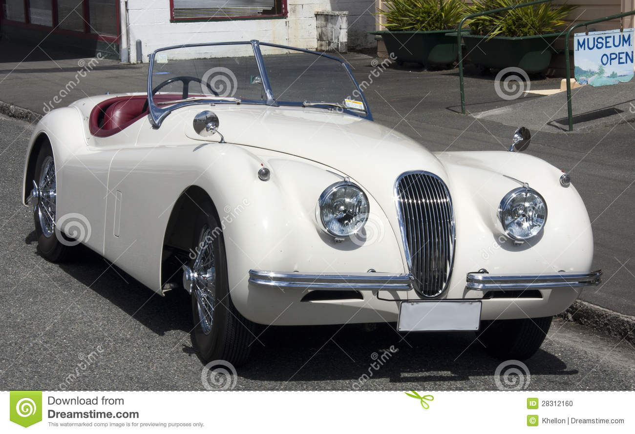 Classic British Sports Car Stock Photo  Image: 28312160