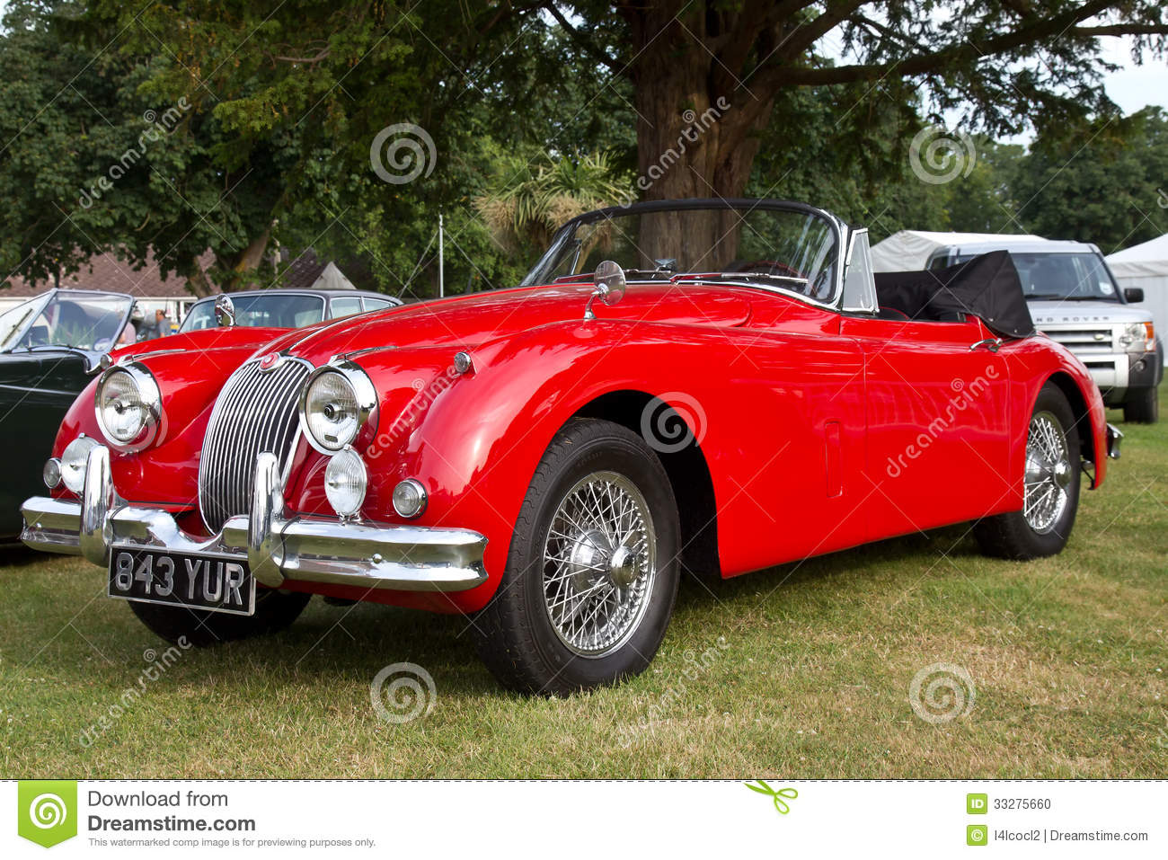 Classic British Sports Car Editorial Image  Image: 33275660