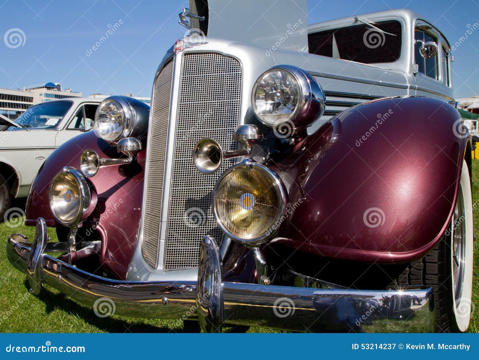 Enterprise Rental Car Charlotte Nc: Classic 1935 Buick Automobile Editorial Photography