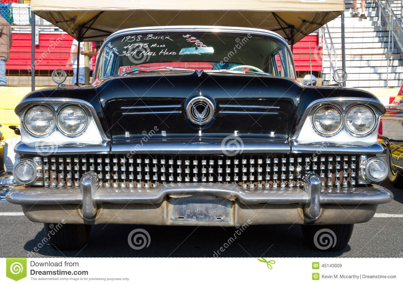 Classic 1958 Buick Automobile Editorial Stock Image