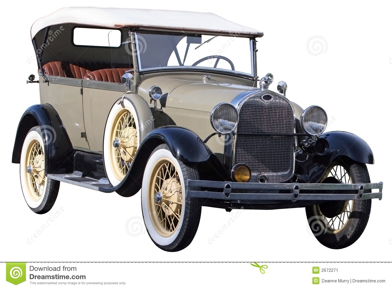 Classic Car Stock Image Image