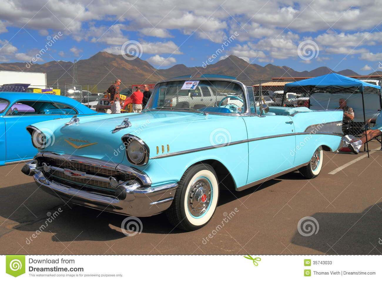 Classic Car: 1957 Chevrolet Bel Air, 1957 Editorial Stock Photo ...