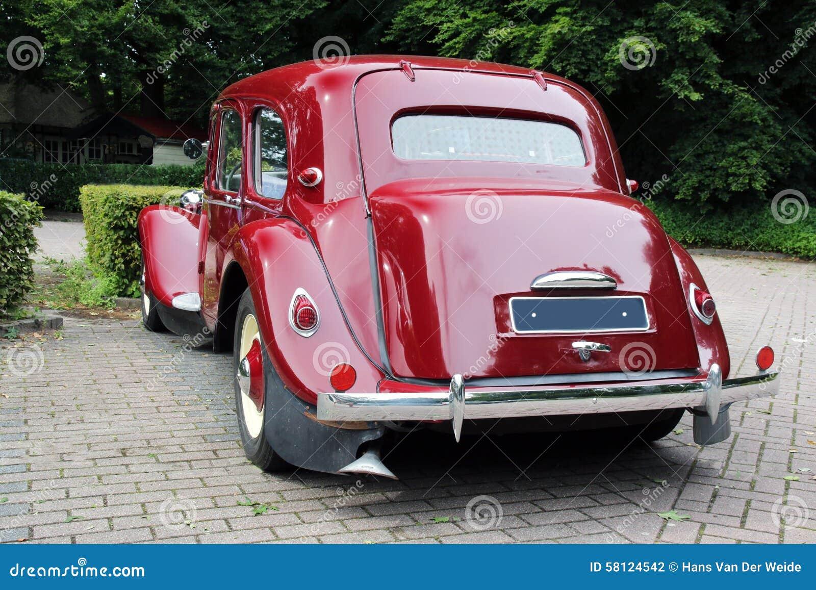 classic car citroen stock photo image 58124542. Black Bedroom Furniture Sets. Home Design Ideas