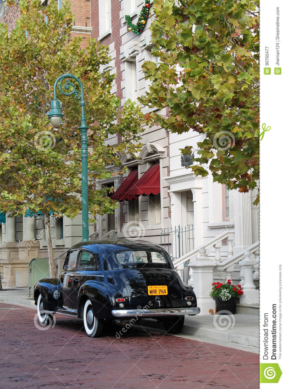 Classic Car Classic Setting Editorial Photography - Image of