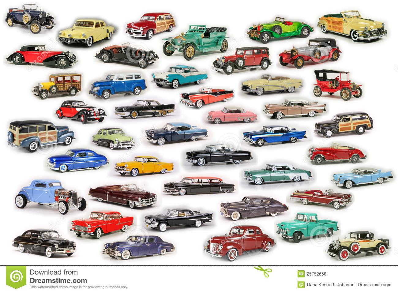 Classic Car Composite Royalty Free Stock Photos Image