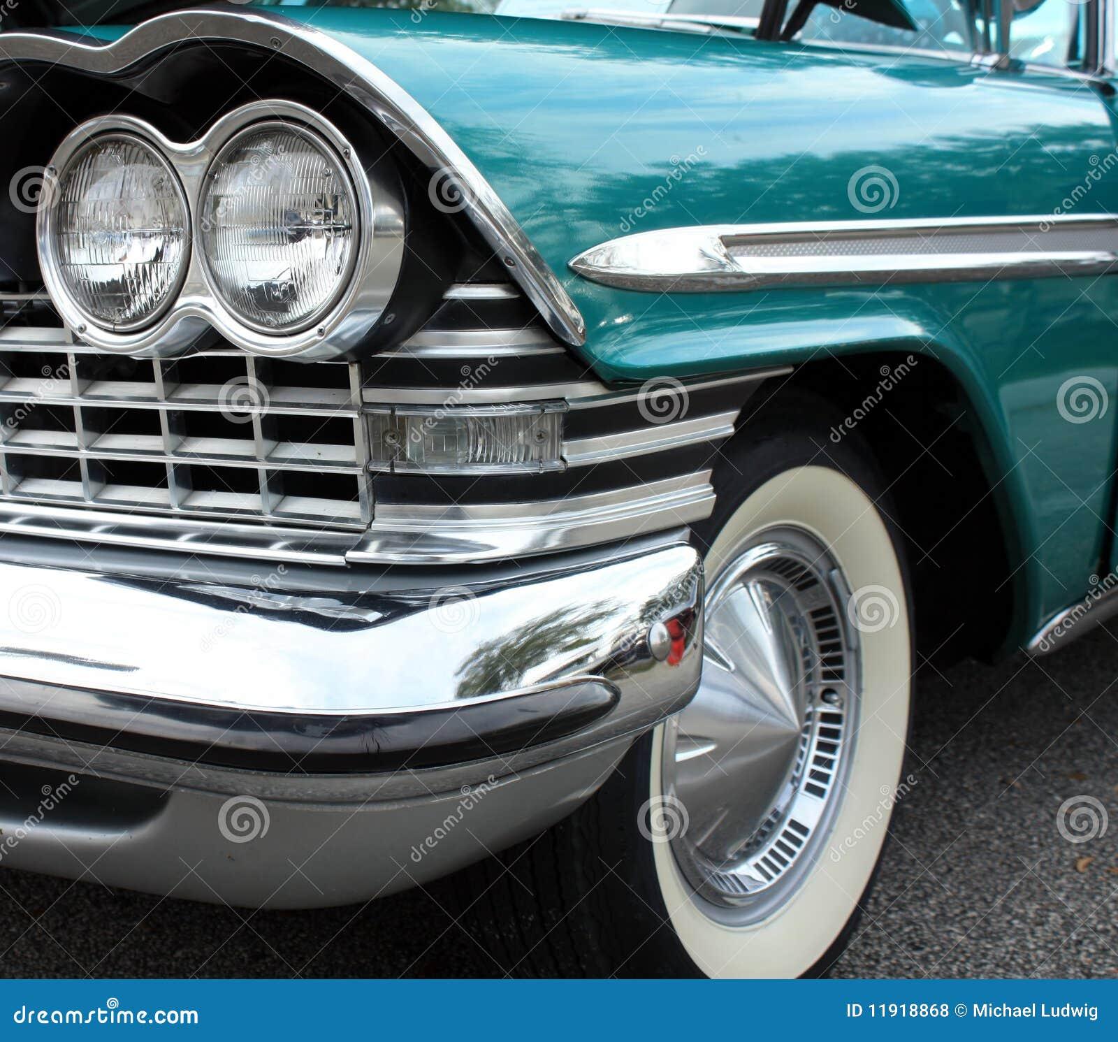 Car Stock Photos: Classic Car Headlamp Royalty Free Stock Photos