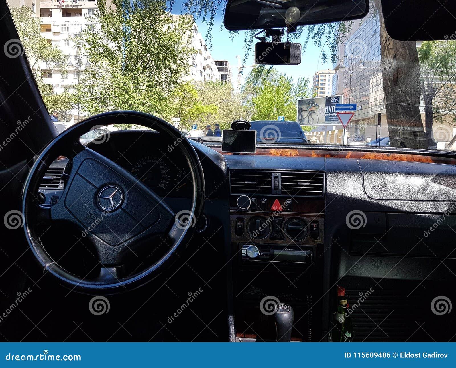 Classic Car Interior Design Dashboard Editorial Photo Image Of