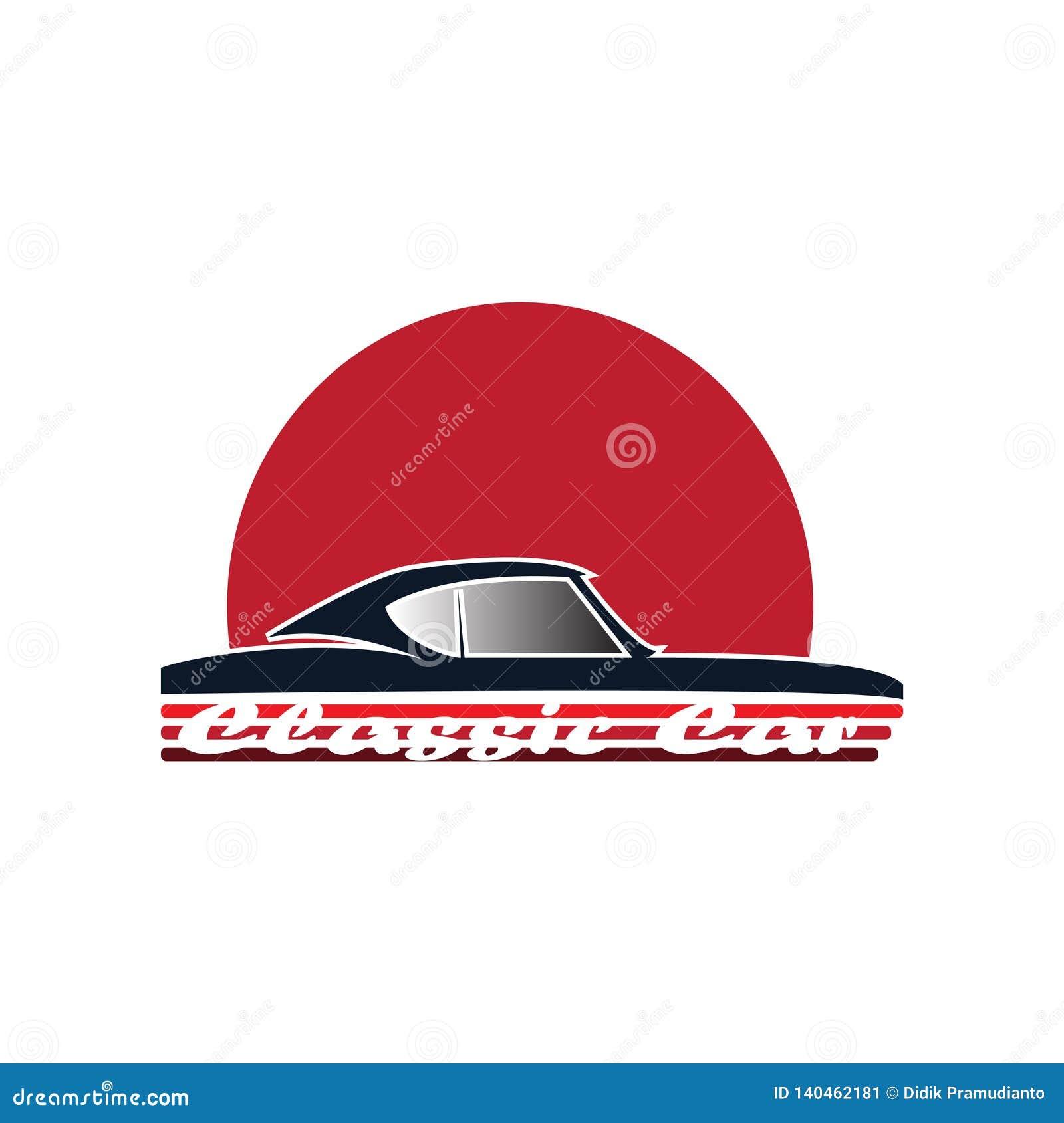 Classic car logo for classic car club