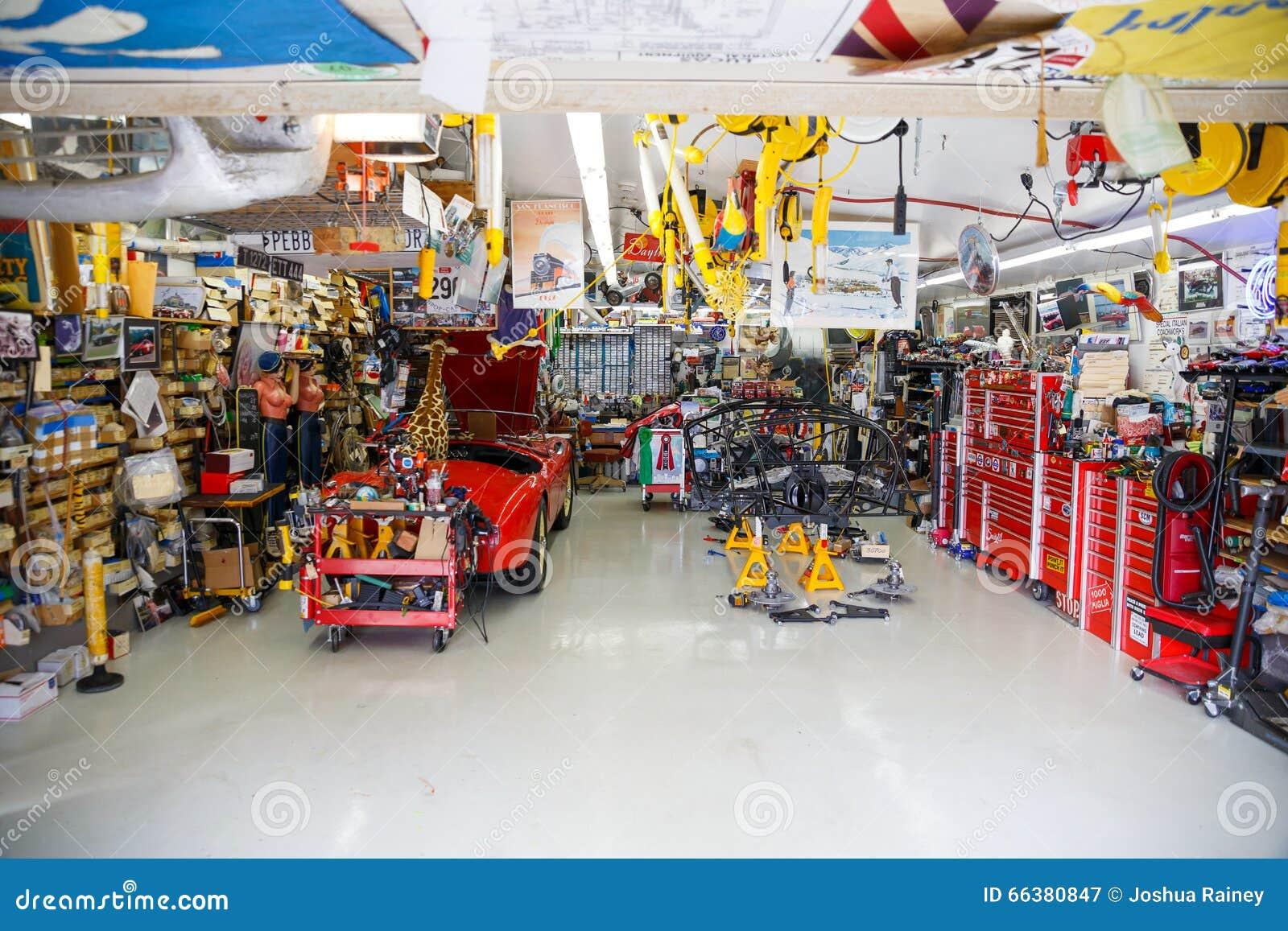 mechanics garage
