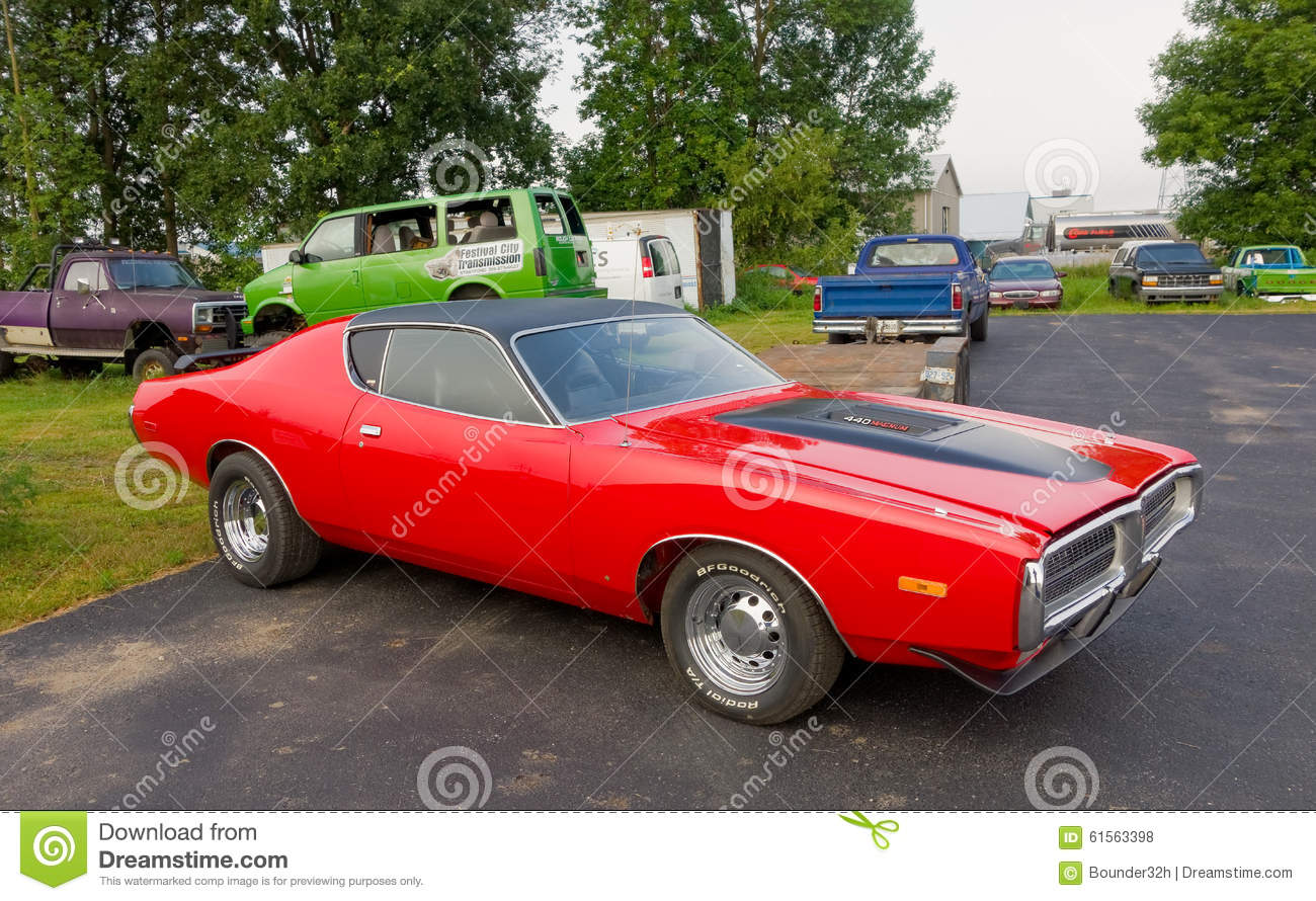 A Classic Car For Sale In Canada Editorial Stock Photo - Image of ...