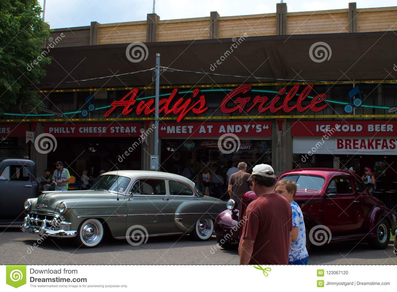 Classic Car Show In Minnesota Editorial Image Image Of Classic - Car show mn