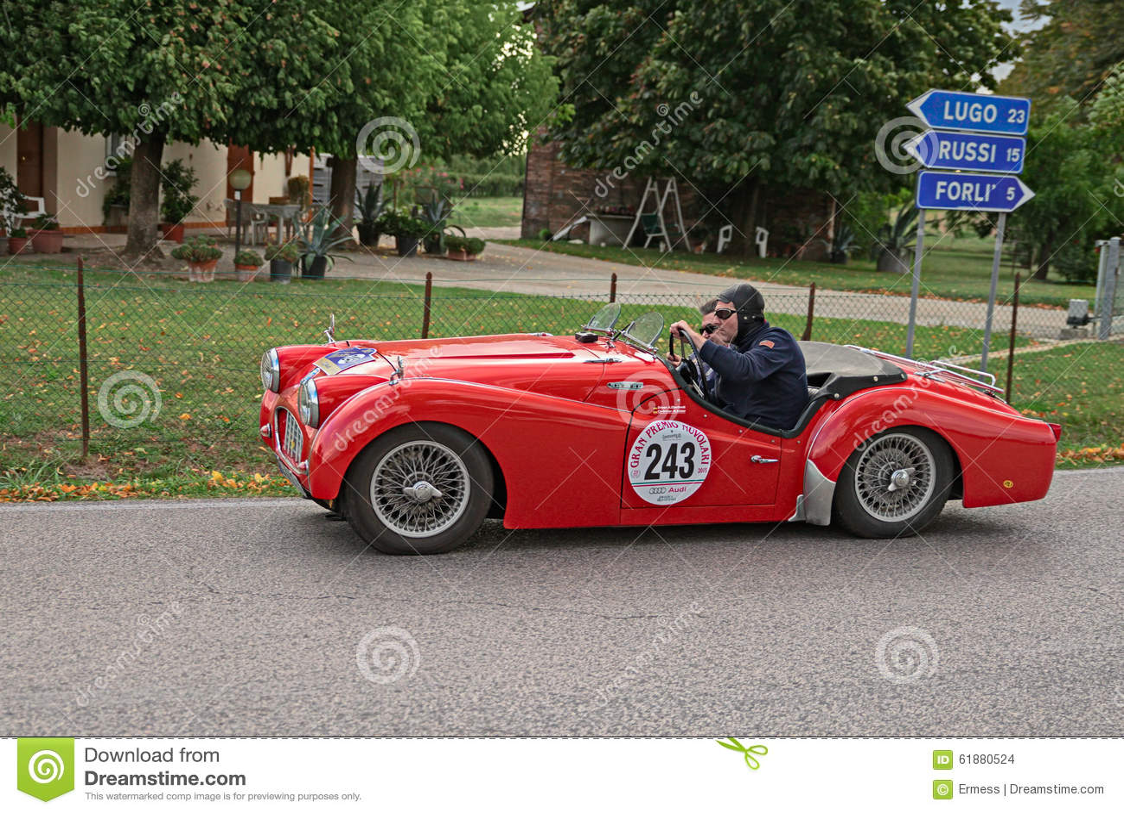 Classic Car Race Italy