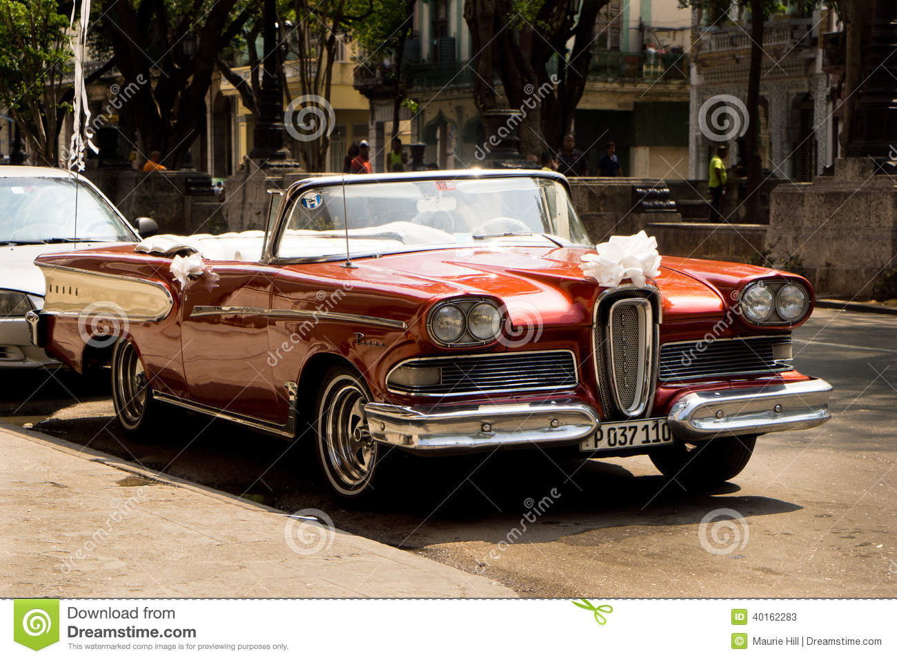 Classic Cars In Havana Cuba Editorial Stock Photo Image