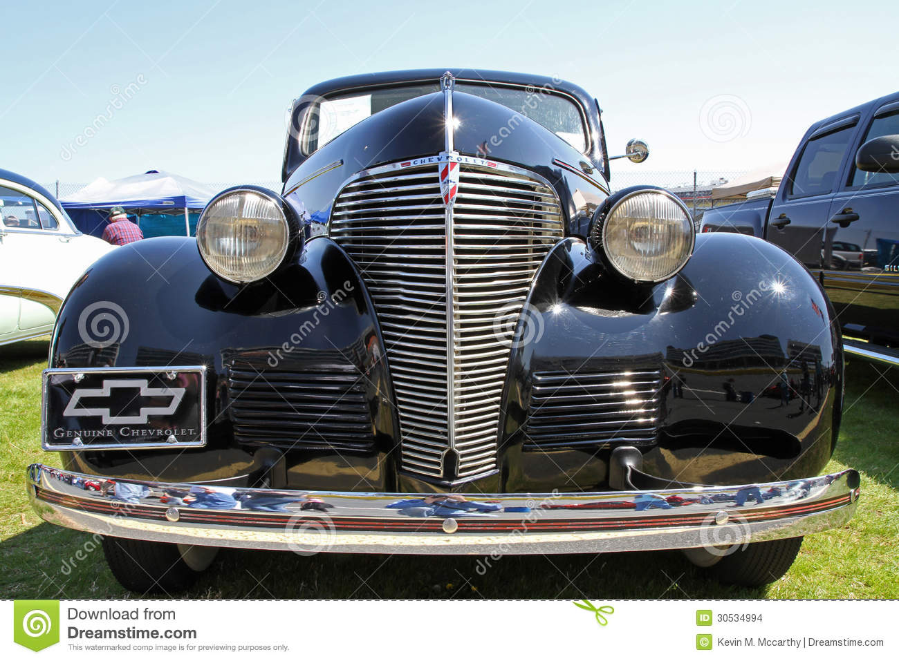 Classic Chevrolet Automobile Editorial Stock Image Image