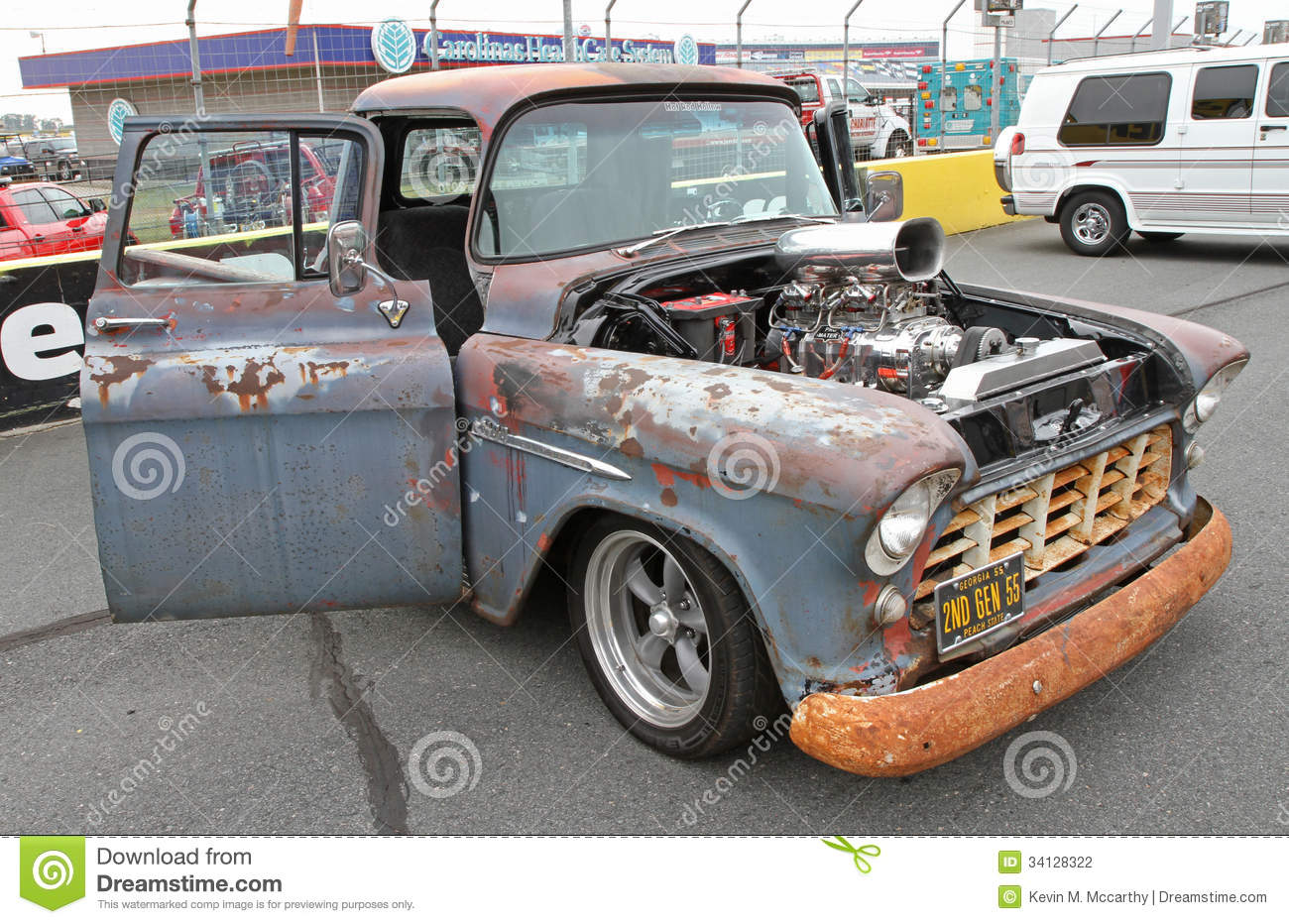 Classic Chevrolet Pick Up Truck Editorial Photography - Image of ...