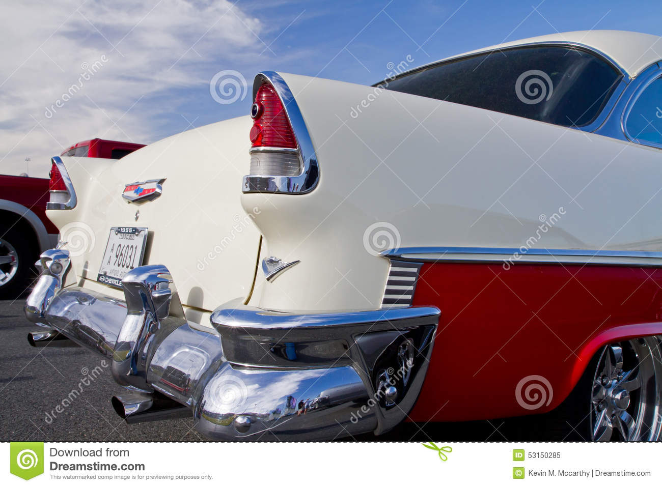 Classic 1955 Chevy Automobile Editorial Image Image
