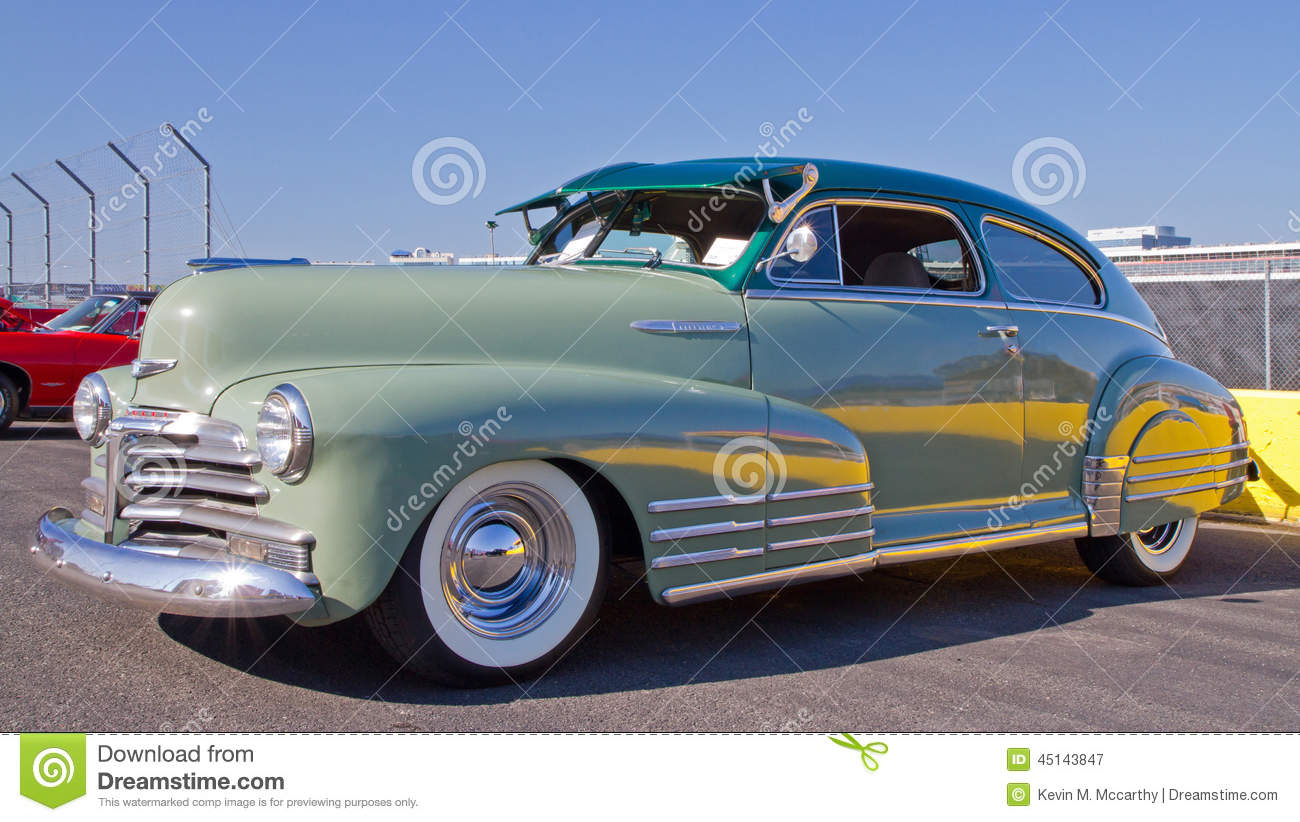Classic 1948 Chevy Automobile Editorial Photography Image