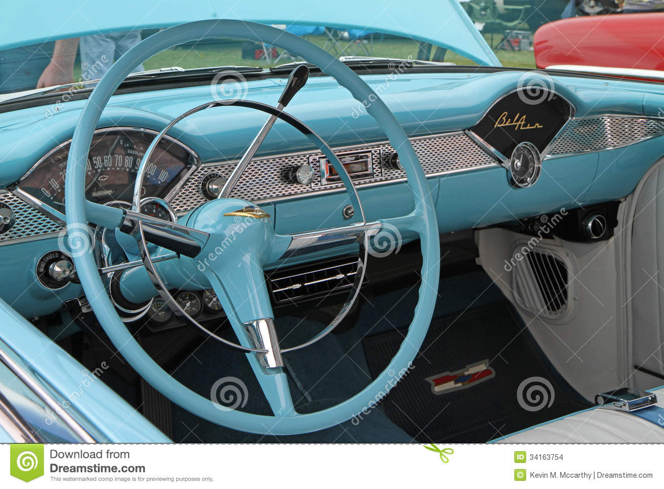 classic 1955 chevy automobile editorial stock image image 34163754. Black Bedroom Furniture Sets. Home Design Ideas