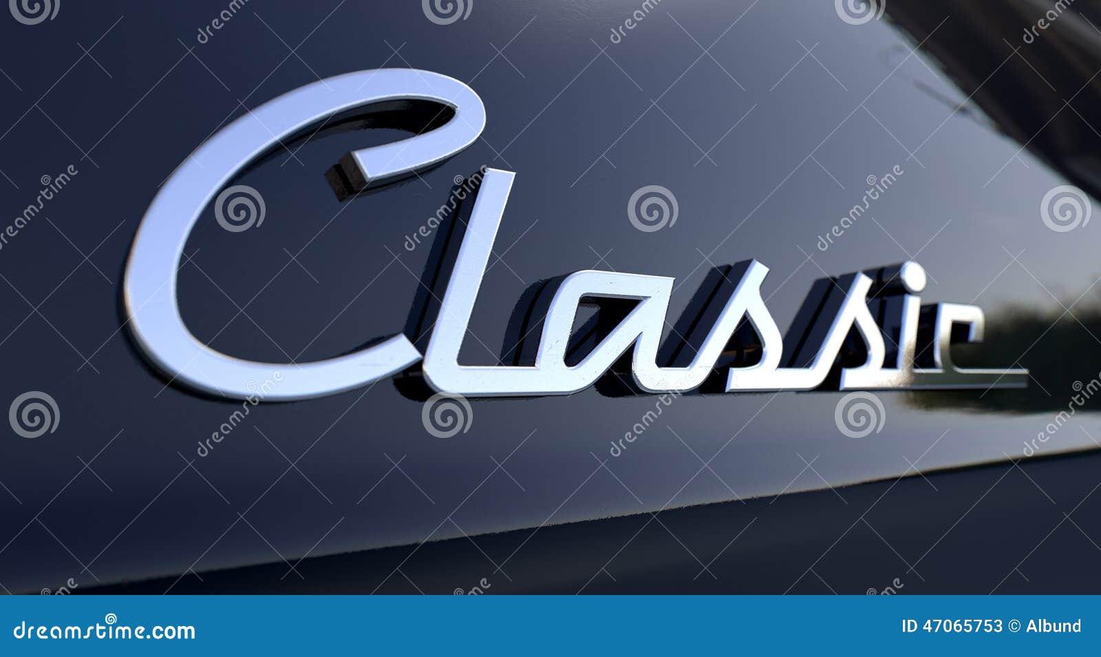 Classic Chrome Car Emblem