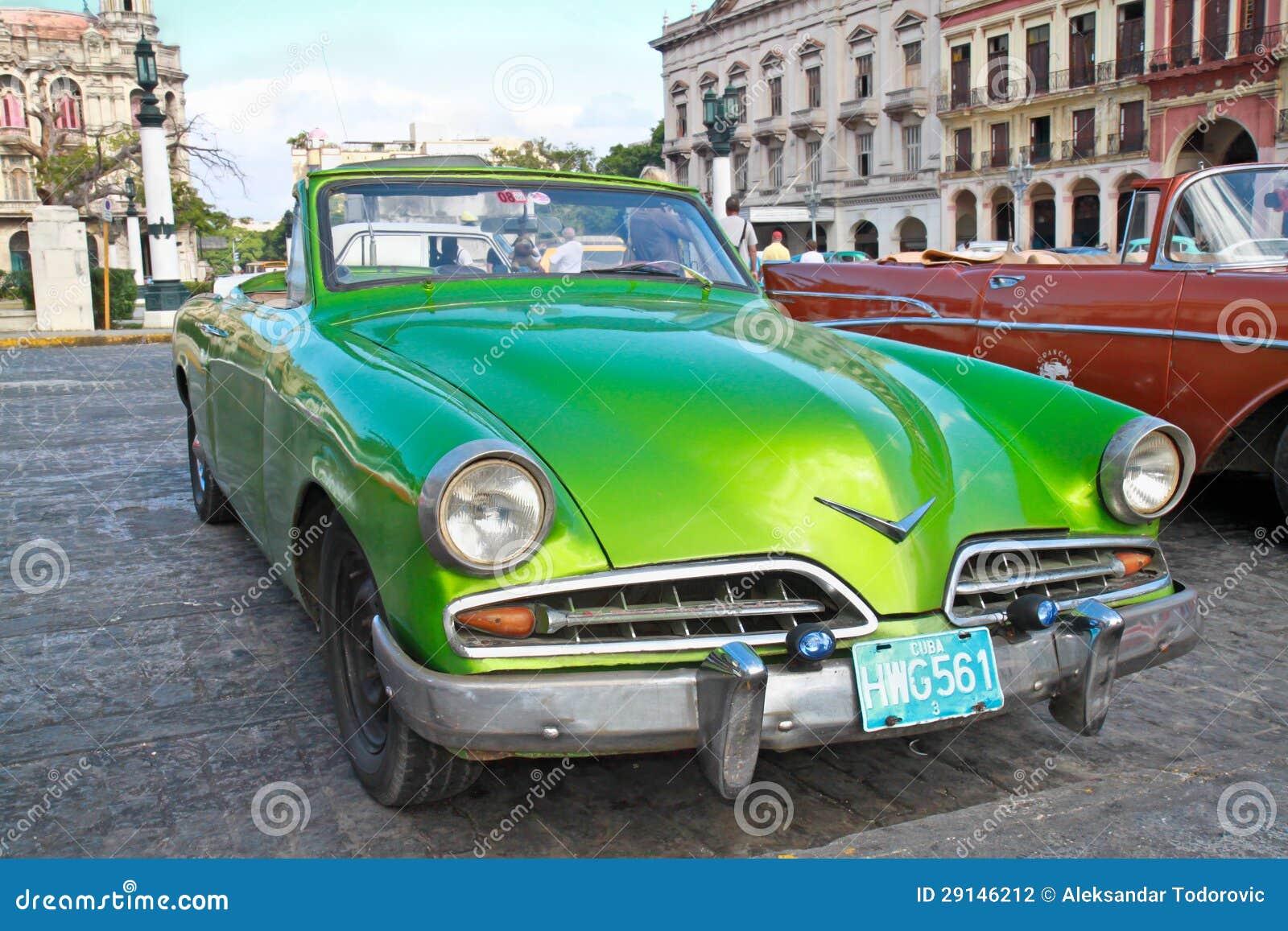 Classic Citroen In Havana.Cuba. Editorial Photography - Image of ...