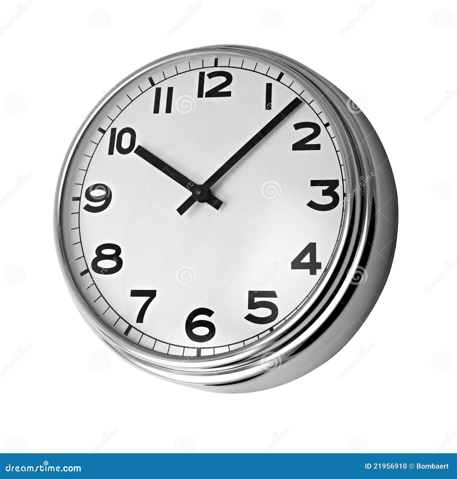 Classic clock on wall ...