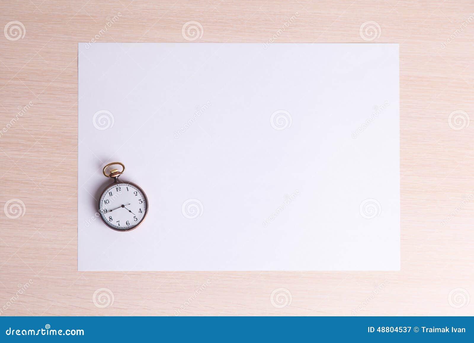 Blank Sheet of Paper for Letter