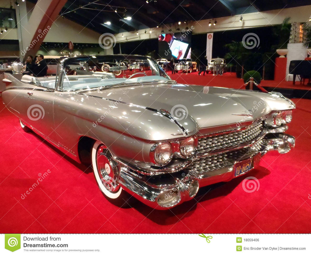 SAN FRANCISCO, CA - NOVEMBER 20: Classic Convertible Cadillac Car ...