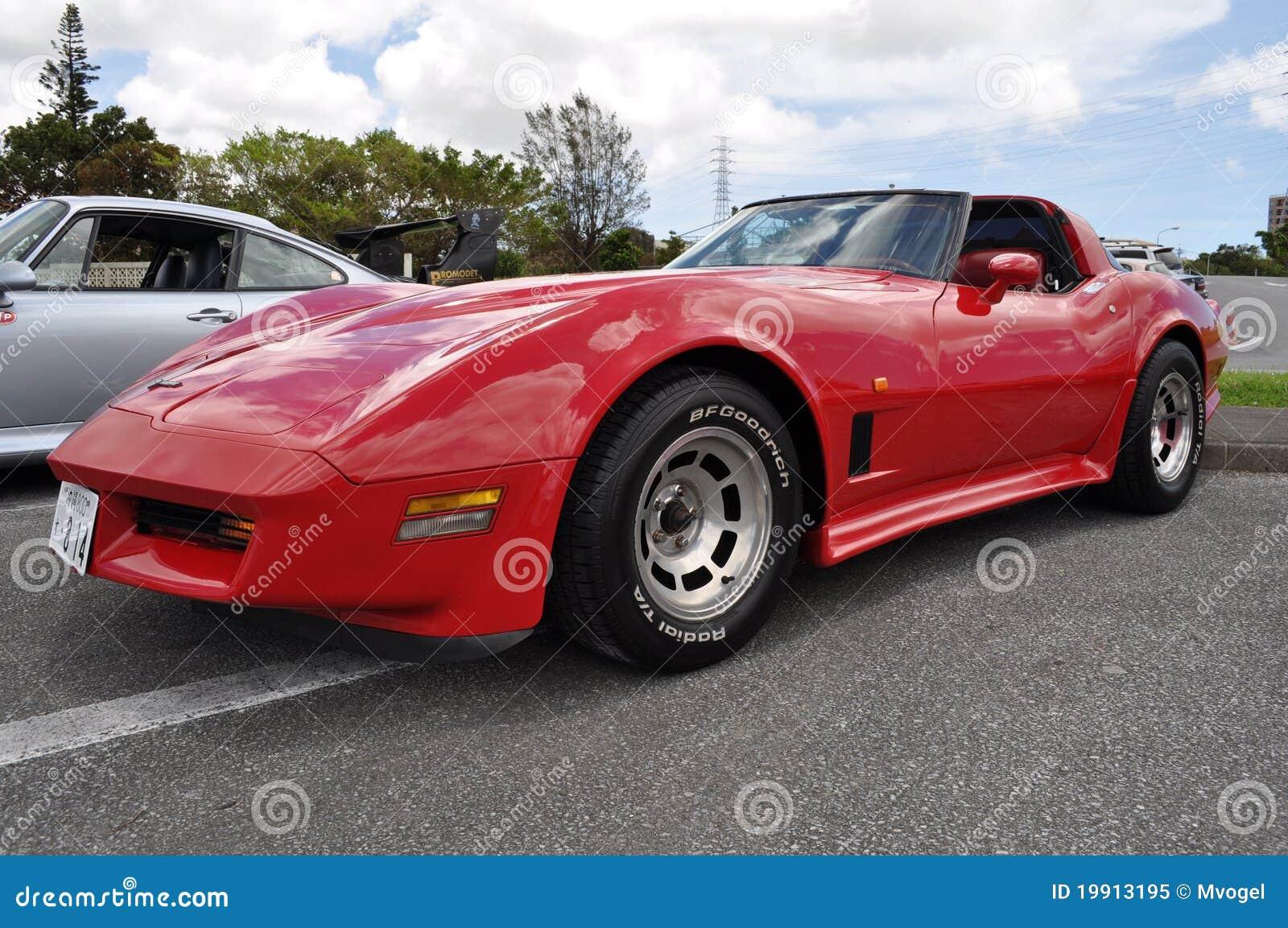 Old Corvette Headlights : Classic corvette editorial image of seat bumper