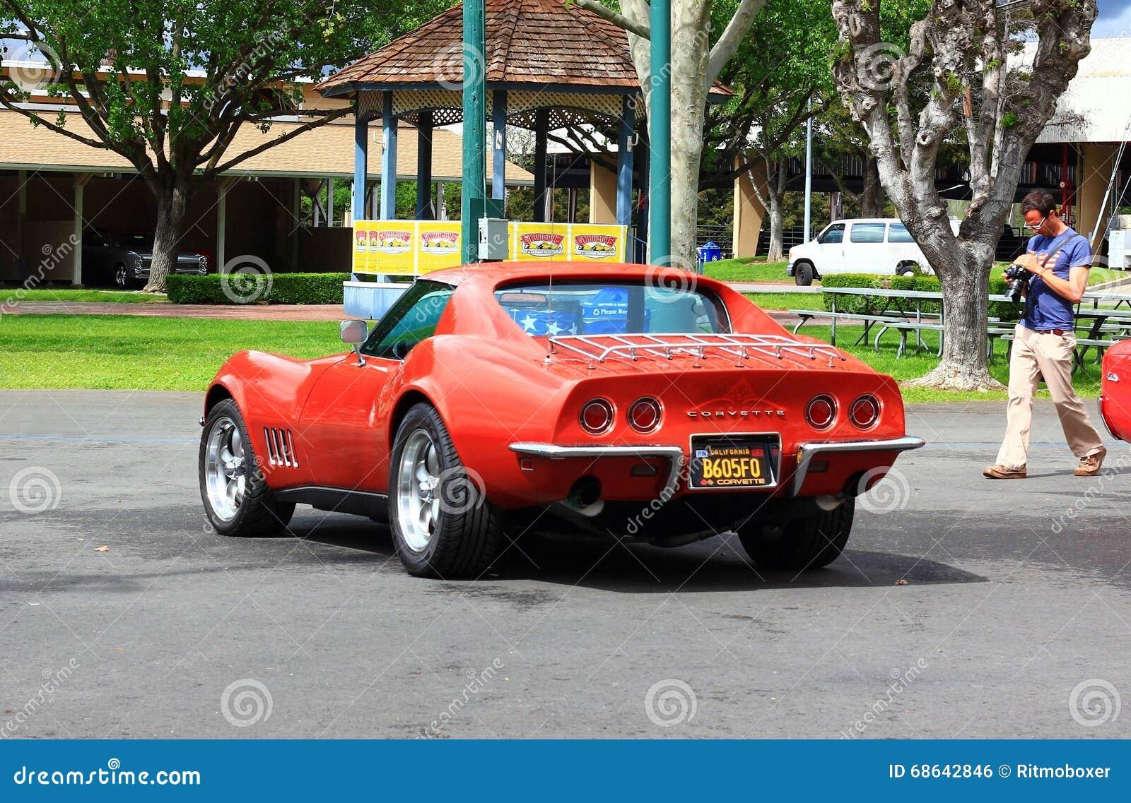Classic Corvette Car At The Good Guys Car Show Editorial Photo - The good guys auto