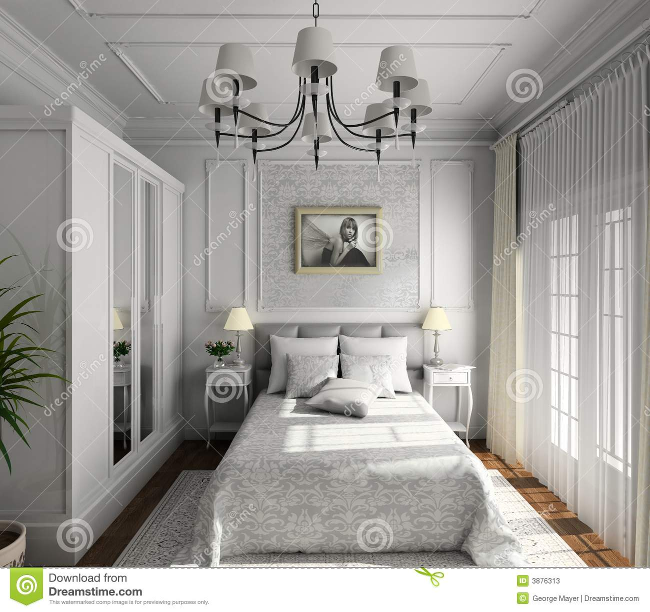 Classic design of interior stock illustration image of for Classic design interior