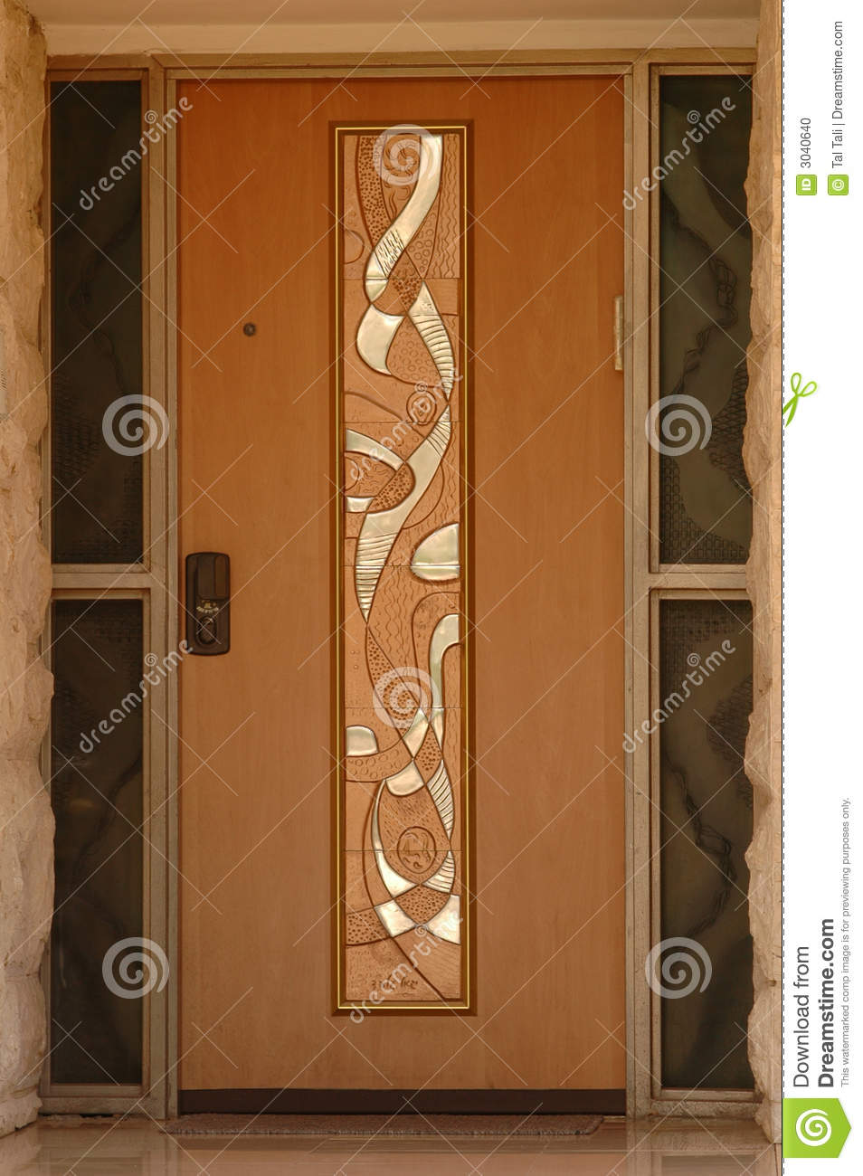 Classic Door Stock Photo - Image: 3040640