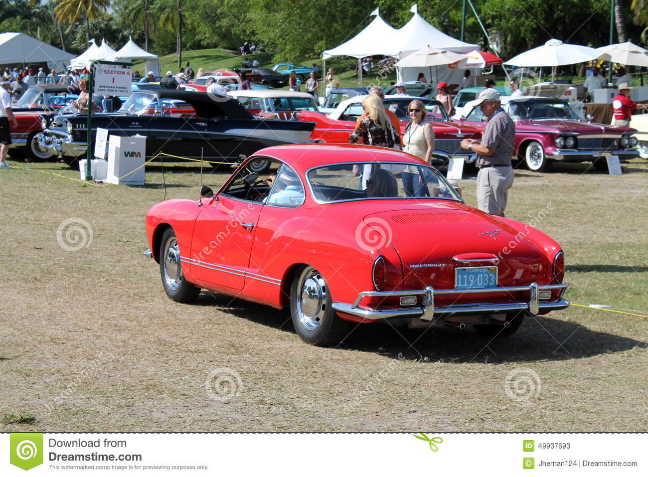 Classic European Sporty Car Editorial Stock Photo - Image ...