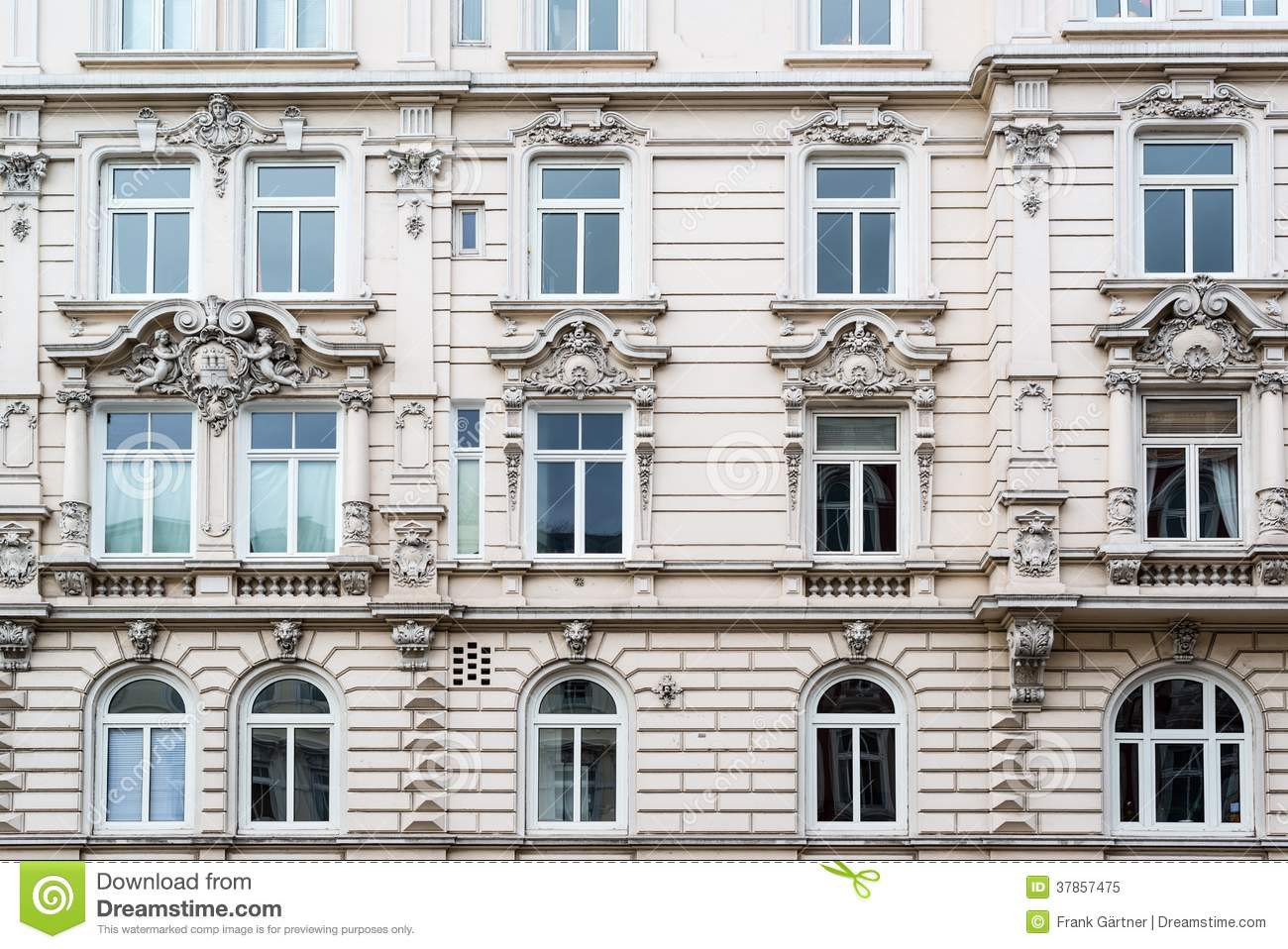 Classic facade royalty free stock photo image 37857475 for Classic house facades