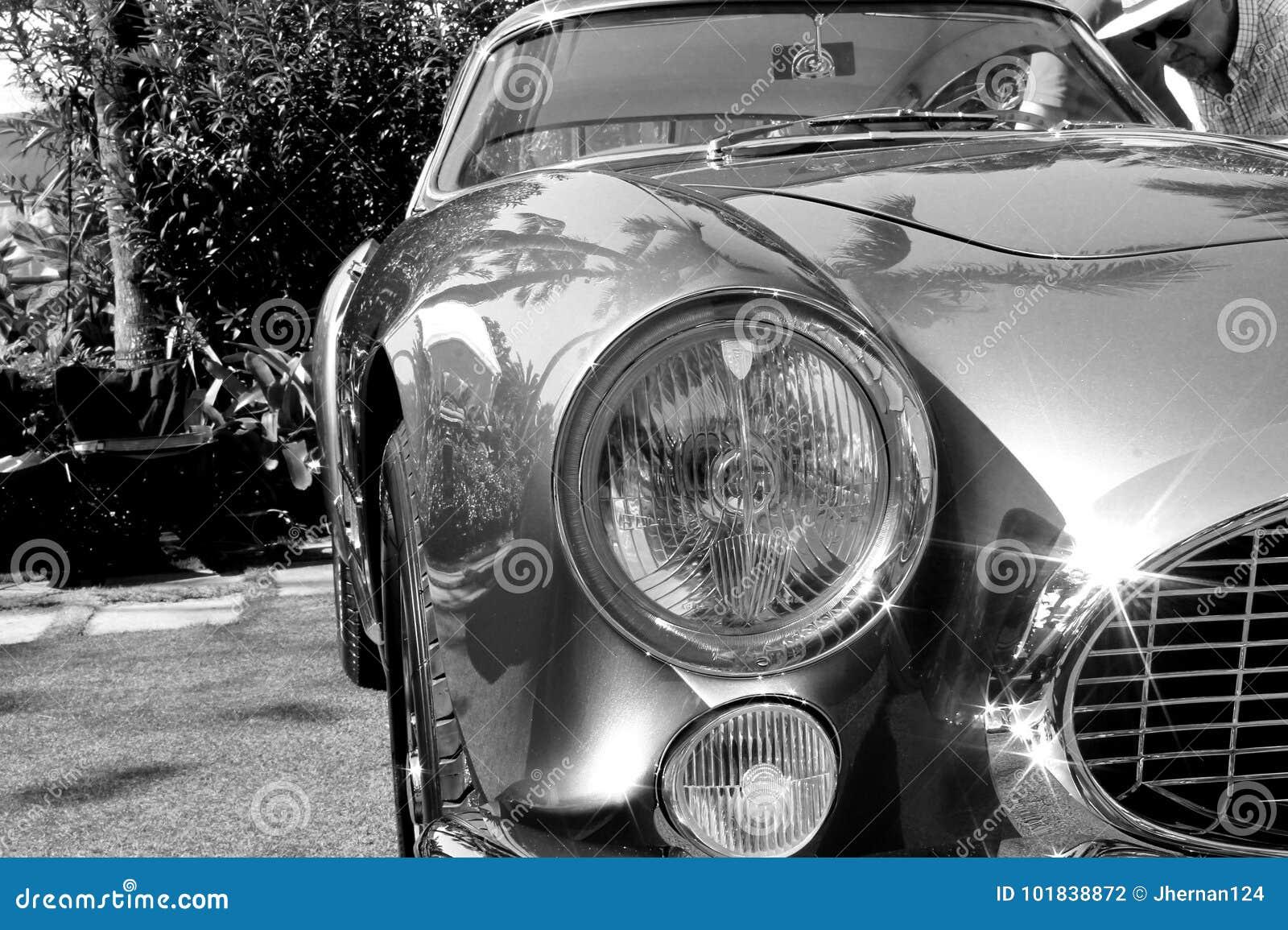 1950s Ferrari 250 TdF front details