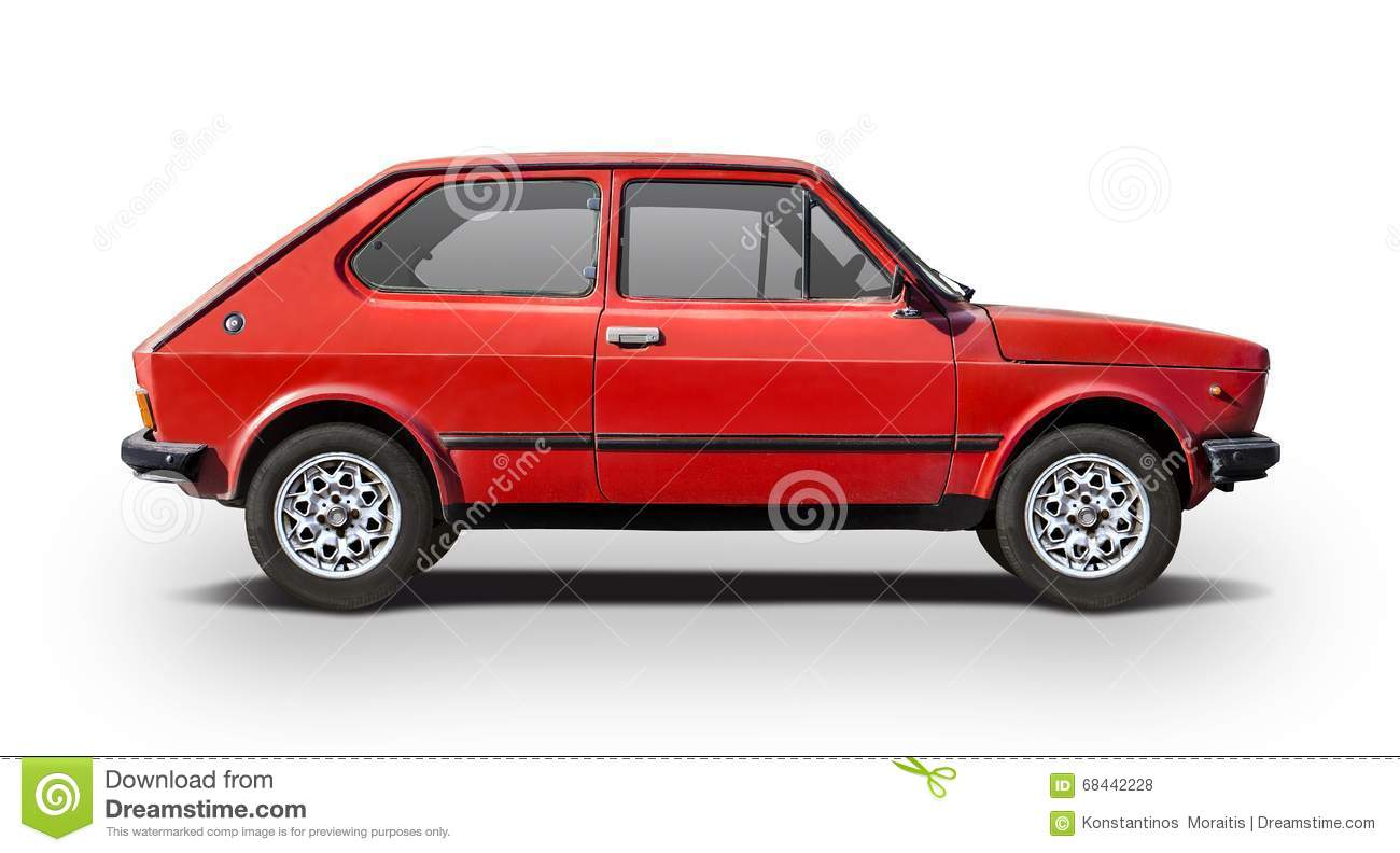 Classic Fiat 127 Stock Photo Image Of View Italian