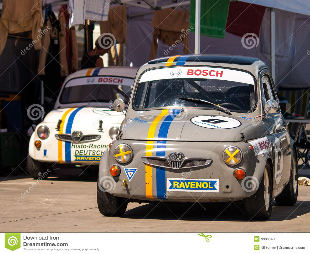 Classic Fiat 500 Race Cars Editorial Image Image Of Ford 39060405